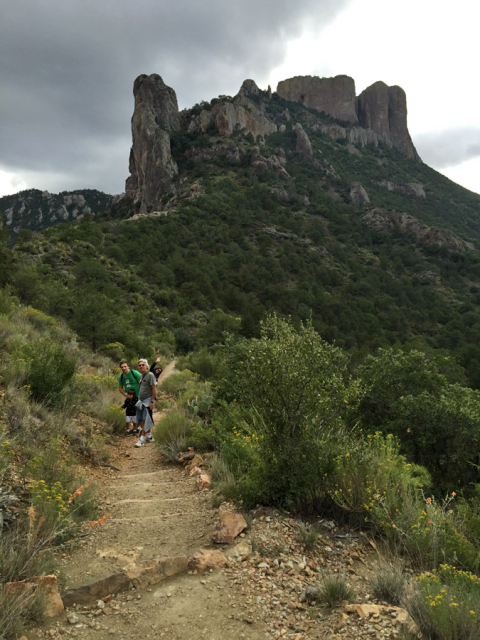 Na Lost Mine Trail, Chisos Mountains