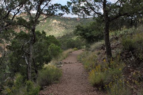 Subindo a Lost Mine Trail no Big Bend