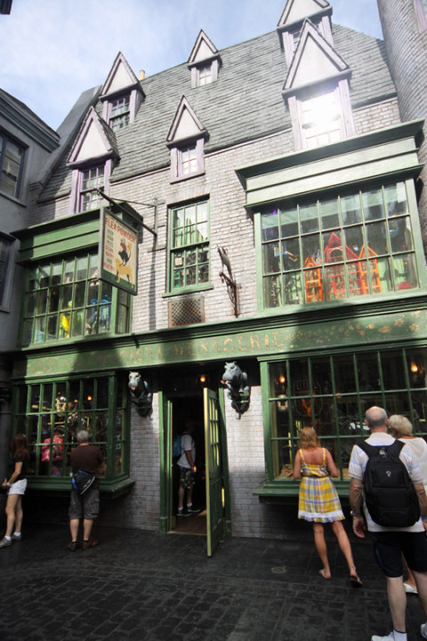 Magical Menagerie em Diagonal Alley