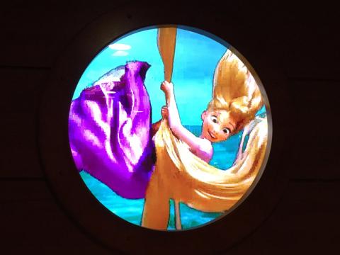 A Rapunzel deu uma passadinha...