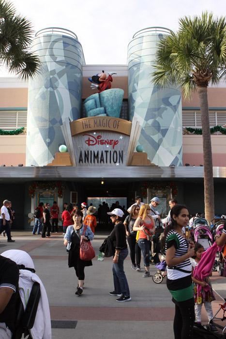 Entrando em Magic of Disney Animation