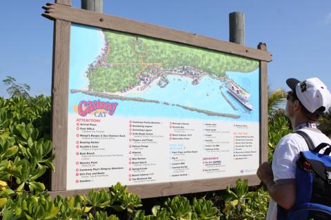 Mapa da ilha da Disney