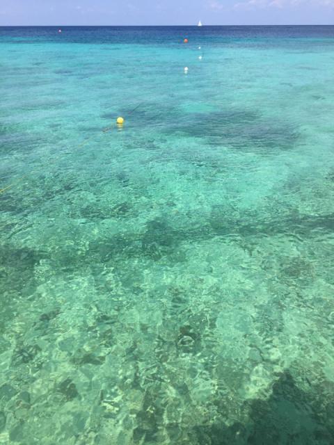 Mar de Cozumel maravilhoso