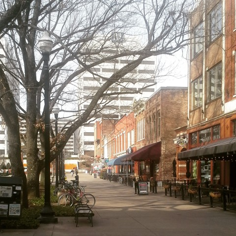 Market Square em Knoxville