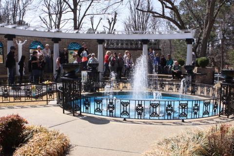 Meditation Garden em Graceland