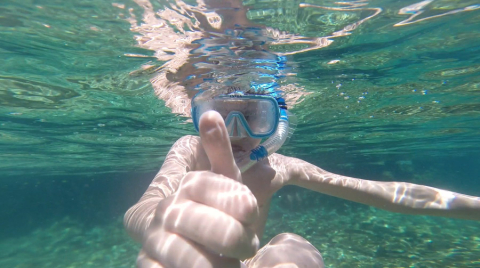 Curtindo a praia perfeita nas Ilhas Cayman