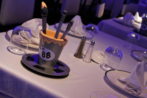 A nossa mesa era a 68, sempre