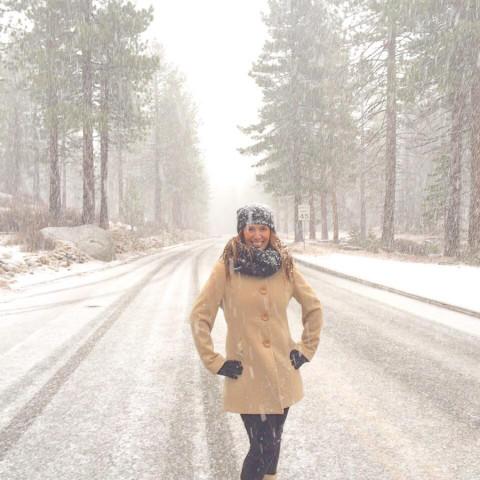 Nevando!