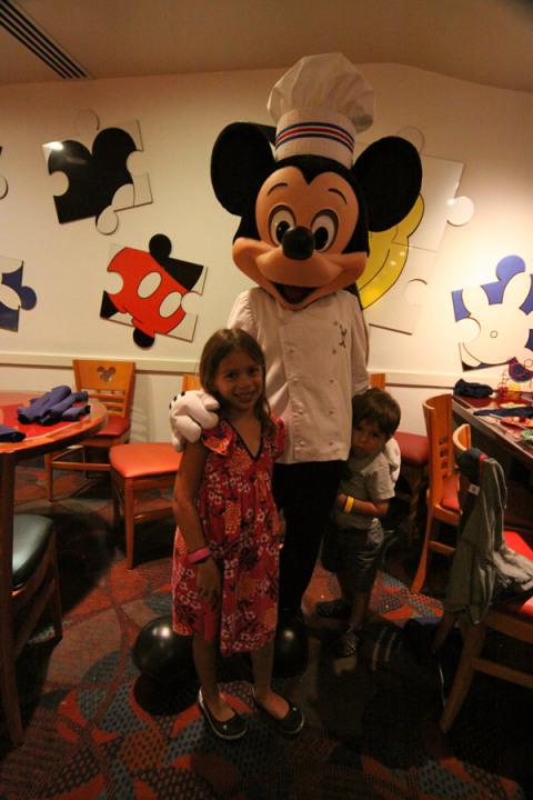 E finalmente o Mickey!