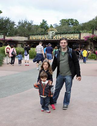 Chegando no Animal Kingdom, foi o nosso primeiro parque