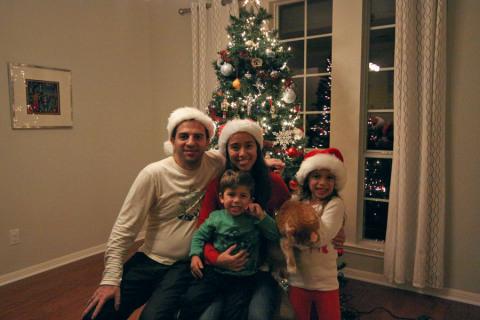 Missão cumprida: nossa árvore de Natal 2014