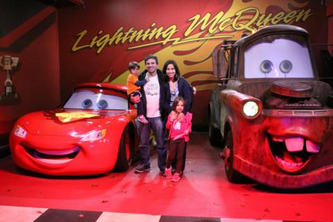Nós e os carrinhos mais fofos: Relâmpago McQueen e Mate