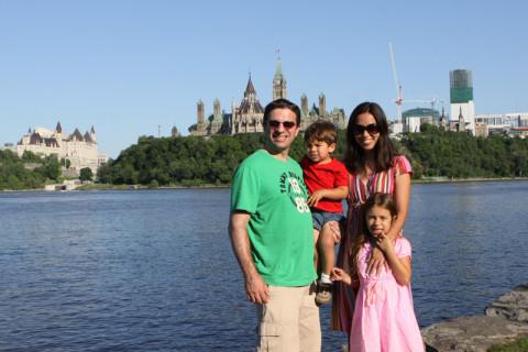 Foto de família em Ottawa