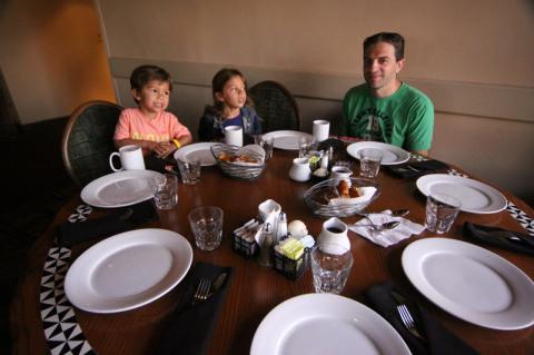 Nossa mesa no Ohana