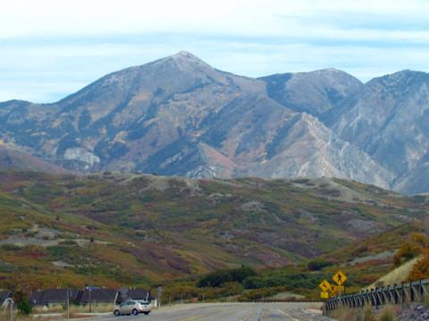 As montanhas estão por toda parte
