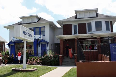 As duas casas do Motown Museum, em Detroit