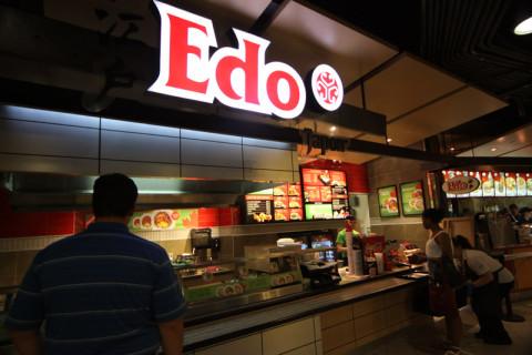 Não coma no Edo