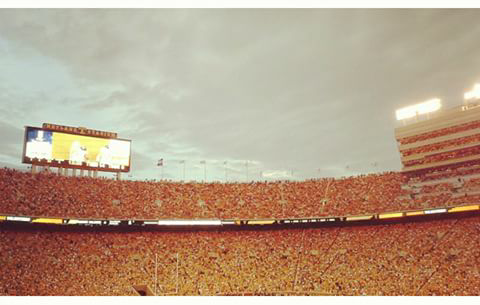 Neyland Stadium em Knoxville