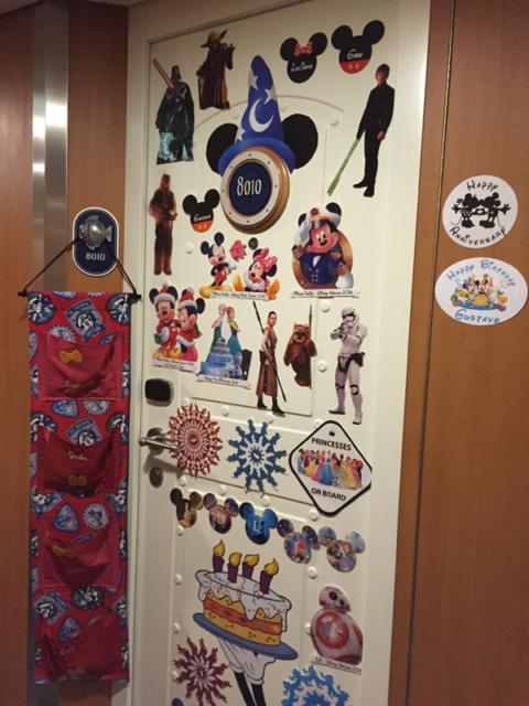 Nossa porta decorada