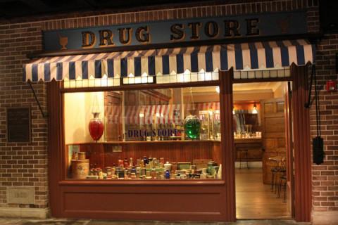 Uma drogaria do século 19 em Detroit