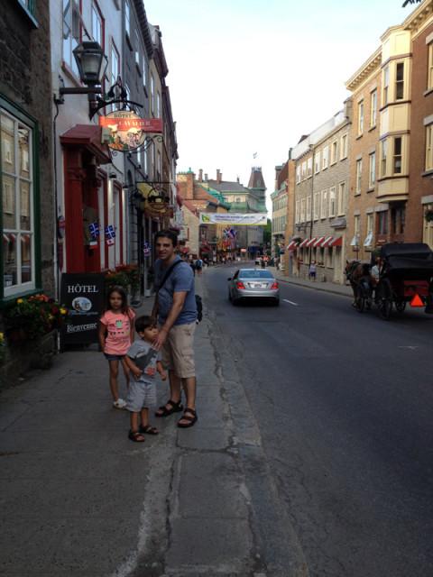 Tudo muito bem preservado em Old Quebec City