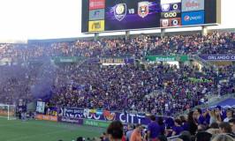 Orlando City: jogo de futebol nos EUA