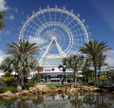 Foto que tirei da Orlando Eye agora em abril, está quase pronta
