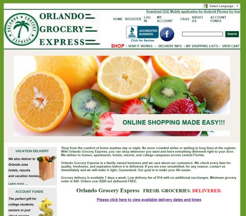 Orlando Grocery Express tem os melhores preços