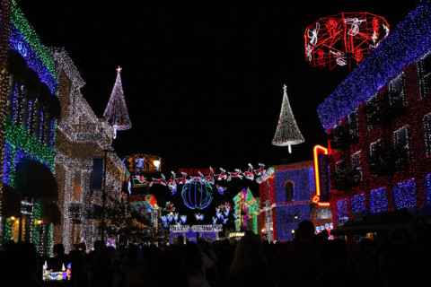 Osborne Family Spectacle of Dancing Lights, muito lindo