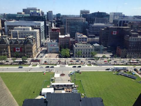 Ottawa do alto da Torre da Paz