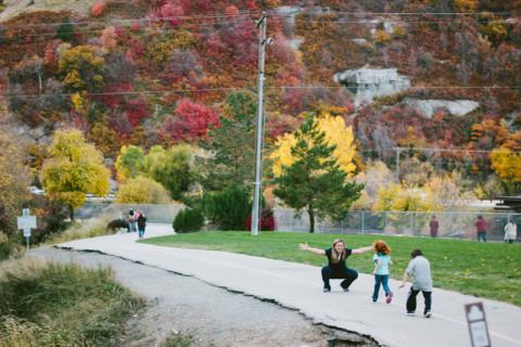 Um lindo dia de outono em Provo