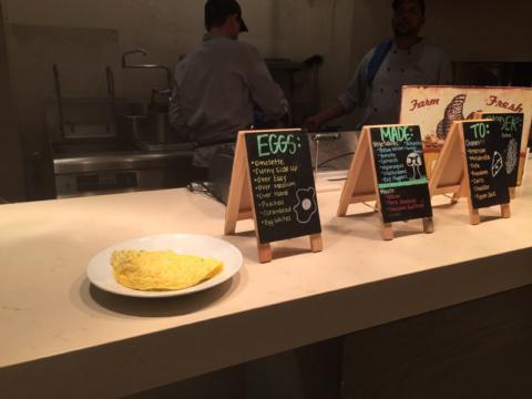 Escolha como você quer os seus ovos, que eles fazem na hora