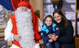 Finlândia com crianças: visitando o Papai Noel em Rovaniemi com a Alessandra