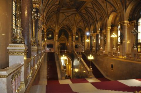 Mais uma do interior do Parlamento