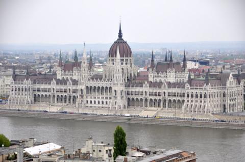 Parlamento visto do Bastião dos Pescadores