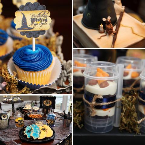 Para os fãs de Harry Potter, uma festa inspirada no menino-bruxo