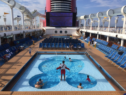 Piscina do Mickey no Disney Fantasy