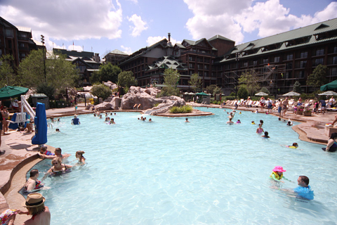 Piscina do Wilderness Lodge
