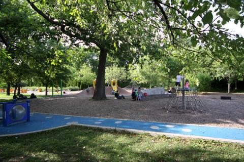 O playground do Jardim Botâncio