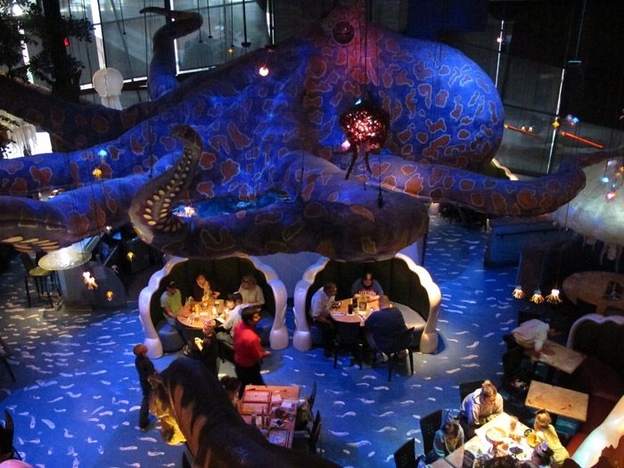 Restaurante T-Rex Cafe em Kansas City, Kansas