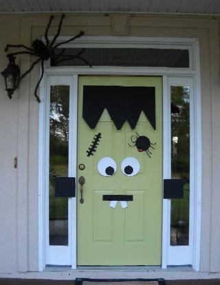 Porta Frankeinstein Halloween