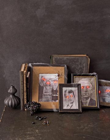 Porta retratos assustadores de Halloween
