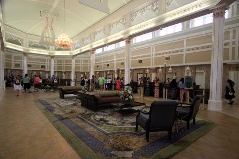 Lobby do Port Orleans Riverside