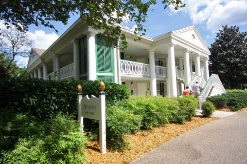 Um dos prédios da parte Magnolia Bend