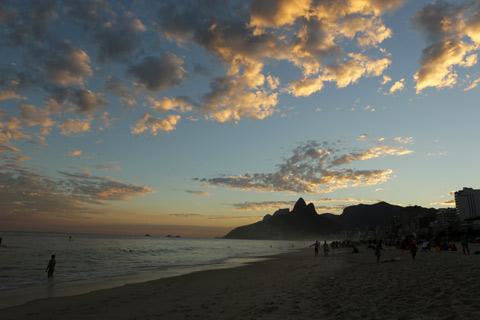 Precisa falar alguma coisa? Praia de Ipanema, Rio de Janeiro