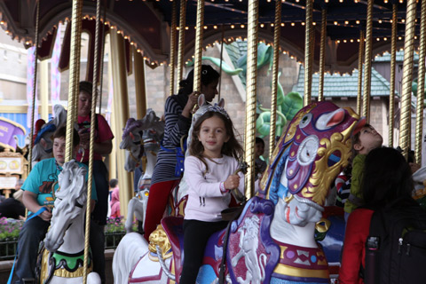 Julia no Prince Charming Regal Carousel