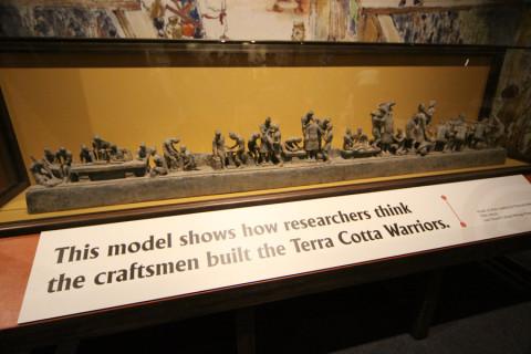 Como os arqueologistas imaginam que os soldados foram construídos