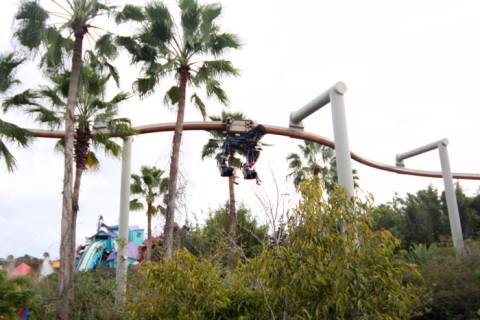 Pteranodon Flyers: só pra quem vai com criança