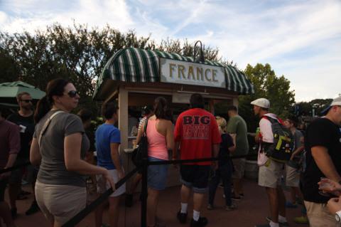 O quiosque da França era um dos mais movimentados