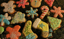 Cookies de Natal com receita tradicional americana